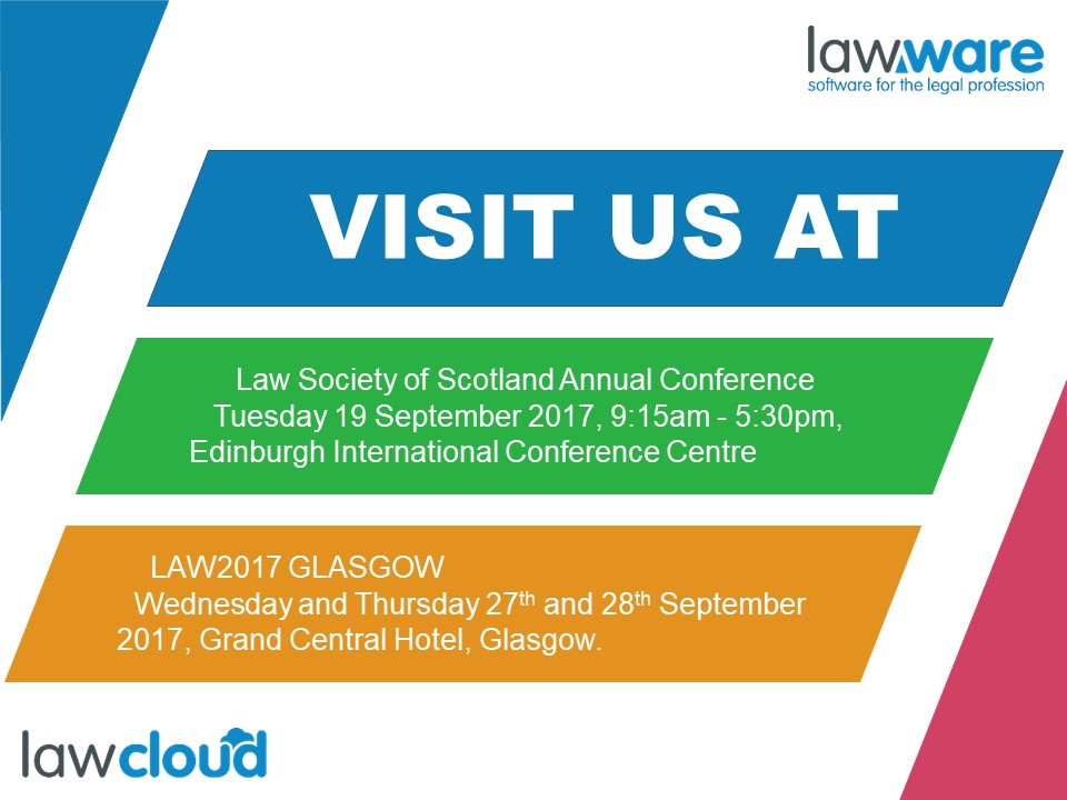 Scottish Law Society Conference and LAW2017