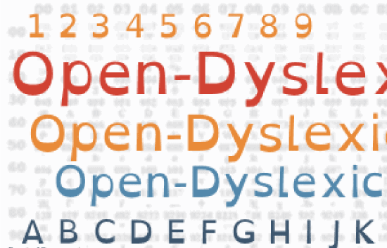 Dyslexic font for lawyers