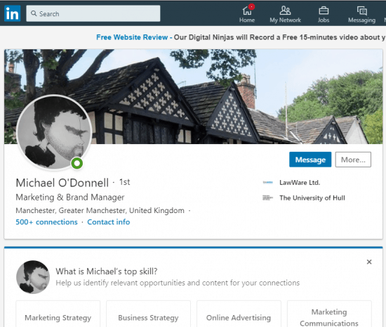 solicitor linkedin profiles