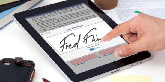 electronic signatures legally valid