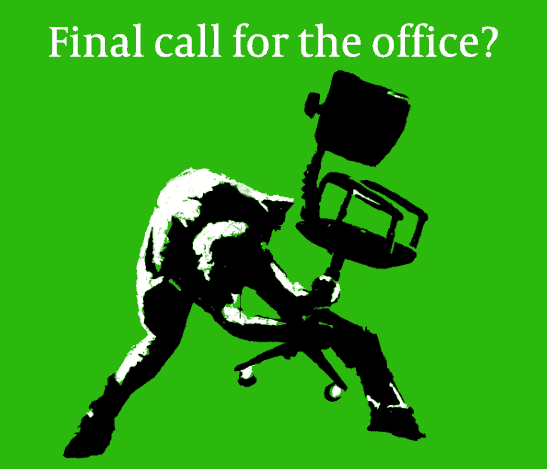 Clash style London calling to represent The future of the legal office