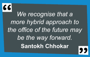 Quote by Santokh Chhokar: The future of the legal office